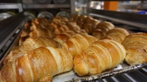 Sweet n Savory Cafe croissants baked fresh daily