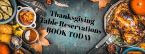 Wilmington NC Thanksgiving Restaurant Reservation